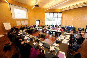 Reunion de referentes de Justicia y paz CMI
