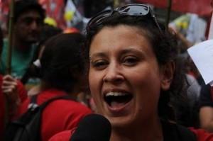 Belen Spineta é jornalista e feminista na Argentina Arquivo pessoal